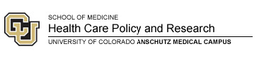School of Medicine Health Care Policy and Research