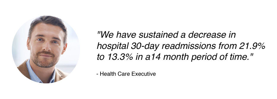 Health care executive testimonial